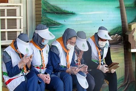 بازدید مدیر سازمان دانش آموزی خوزستان از مدرسه  تشکیلاتی پاینده   Amir Reza Rezavi