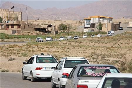 رژه خودرویی عزای اربعین  سرور وسالار شهیدان درشهرستان خوسف استان خراسان جنوبی  | Mahdi Arasteh