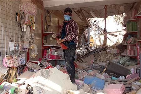 انفجار خانه مسکونی سه واحدی در محله عامری اهواز | Mohamad Shahrokh Nasab
