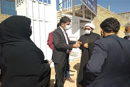 بازدید نماینده ترشیز کهن از کارگاه های  آموزشی و اشتغالزایی  | MojtabaSahebzamani