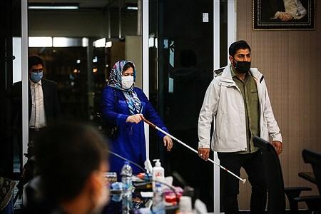 مراسم روز جهانی عصای سفید | Ali Sharifzade