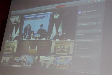 ویدئو کنفرانس اختتامیه نهمین مجلس دانشآموزی در اداره کل شهرستانهای تهران   Naghmeh Mokhtari