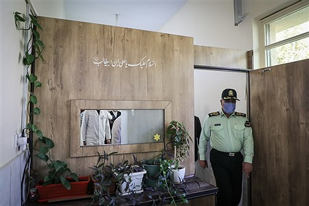 افتتاح بهداری پلیس پایتخت   Ali Sharifzade