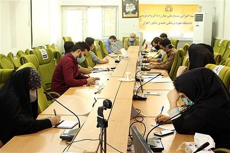 نشست خبری معاونت بهداشت دانشگاه علوم پزشکی  جندی شاپور اهواز   Sajad Shamakhteh