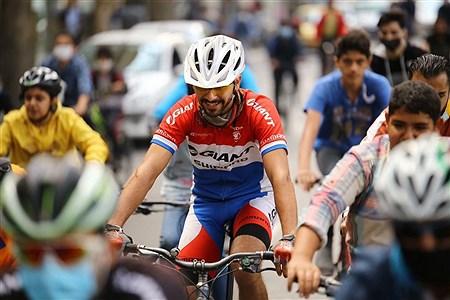 مسابقه دوچرخهسوار | Mobina Pakdaman