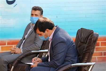 نشست خبری معاونت تربیت بدنی و سلامت آموزش و پرورش خراسان رضوی | Javad Ebrahimi