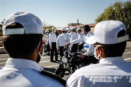 افتتاحیه مرحله چهارم ارتقاء توان و تحرک عملیاتی پلیس راهور ناجا   Ali Sharifzade