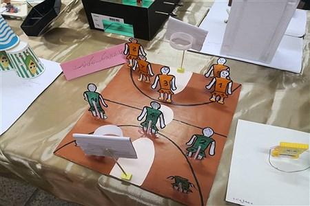 نمایشگاه دستسازههای دانشآموزان در رشته تربیتبدنی   ناحیه یک ری |