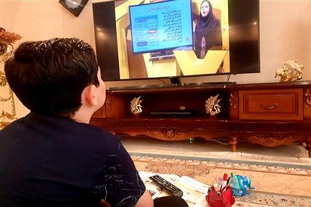 حال و هوای آموزش در خانه   Sana Alizadeh