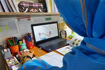 حال و هوای آموزش در خانه   Sahar Mahboubi