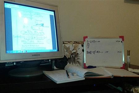 حال و هوای آموزش در خانه   Sara Batouli