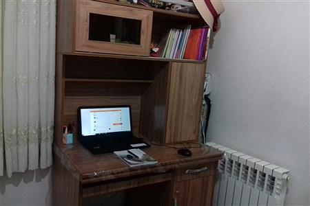 حال و هوای آموزش در خانه   Zahra Zolfaghari