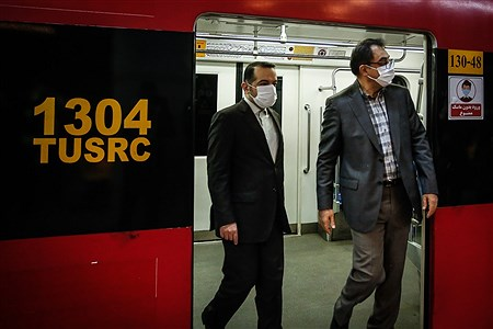 بازدید رییس سازمان مدیریت و برنامه ریزی استان تهران از متروی تهران | Ali Sharifzade