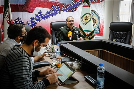 نشست خبری رییس پلیس امنیت اقتصادی | Ali Sharifzade