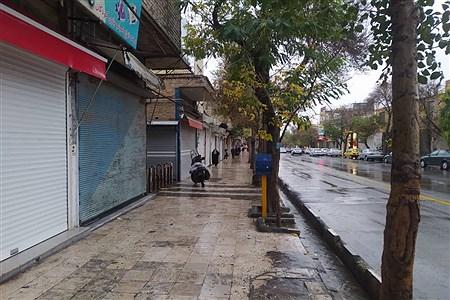تعطیلی بازار و اصناف زنجان | Ali Kaboli