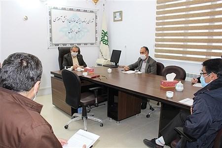 افتتاح ساختمان بازسازی شده و تشکیل شورای برنامه ریزی سازمان دانش آموزی استان اردبیل     agaei