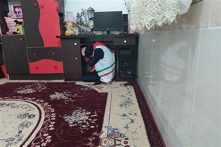 مانور  زلزله | Mahdisa Darwish