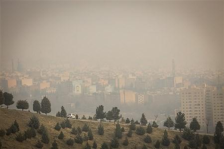 آلودگی هوا در تهران | Behrooz Khalili
