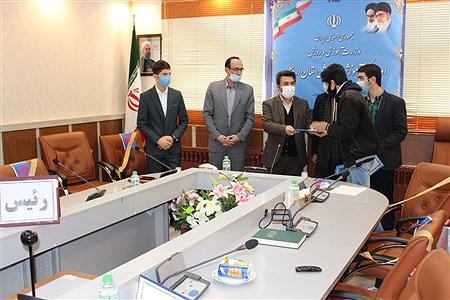 نشست هم اندیشی مجلس دانشآموزی در حوزه پسران - استان اردبیل    agaei
