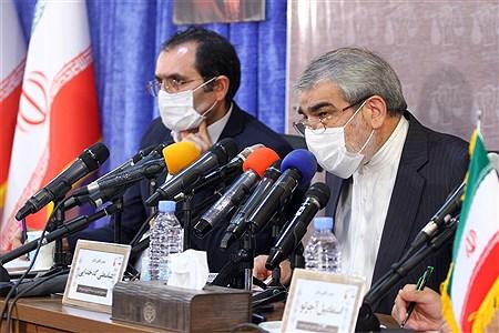 اولین نشست خبری دبیرخانه بینالمللی صلح و مقاومت | Hossein Paryas