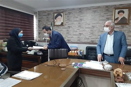 تحلیف اعضای هیئت رئیسه مجلس دانش آموزی شهرستان بابلسر | Pana