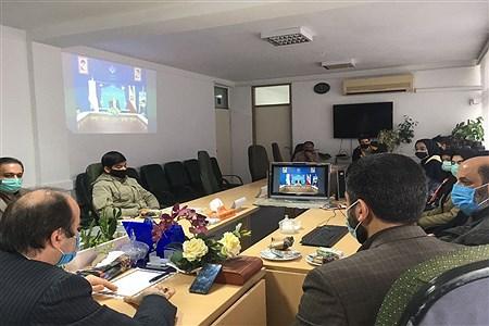 تحلیف اعضای هیئت رئیسه مجلس دانش آموزی شهرستان آمل | Pana