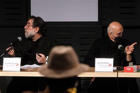 نشست خبری جشنواره آنلاین هنر زنده است   Bahman Sadeghi
