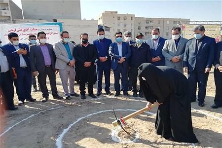 آیین کلنگ زنی 4 پروژه آموزشی در ناحیه یک اهواز | Yeganeh Bashtam