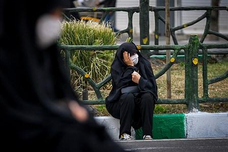 اجتماع بزرگ عزاداران فاطمی در میدان هفت تیر تهران | Behrooz Khalili