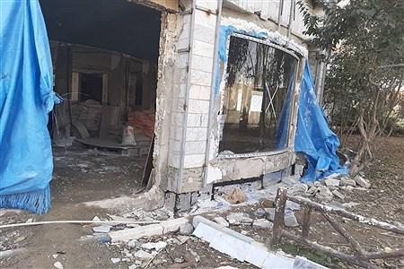 تعمیر و بازسازی فرهنگسرای بعثت در صفادشت ملارد | zahra jebeli