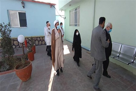 بازدید معاونت پیشگیری کشوراز اولین مرکز اقامتی، بهبودی معتادین متجاهر(زخم باز) در کشور در ورامین | Farahani