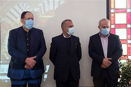 مراسم افتتاحیه هفته فرهنگی غزه | Behrooz Khalili