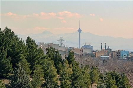 وزش باد شدید در پایتخت، کیفیت هوای تهران را برای ساعاتی در شرایط پاک قرار داد | SOMAYEH NIKFEKR