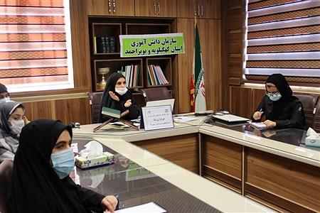 دوره آموزش مقدماتی خبرنگاری ویژه دانش آموزان دختر در یاسوج  