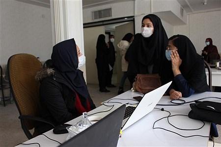 دومین روز برگزاری دوره مقدماتی خبرنگاری پانا ویژه دانش آ موزان دختر در یاسوج  