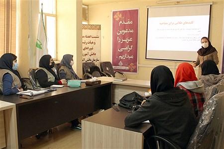 سومین روز دوره آموزشی خبرنگاران دختر  پانا خوزستان  | Mahtab Maraashi