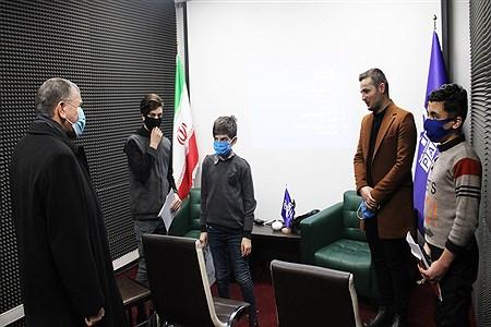 بازدید معاون پرورشی و فرهنگی  اداره کل  آموزش و پرورش و رئیس سازمان دانش آموزی از روند برگزاری دوره خبرنگاری پانا  | Mohammad Lotfi