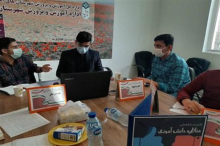 برگزاری اولین مناظره دانش آموزان ملارد با دانش آموزان شهرقدس | Zahra jebeli