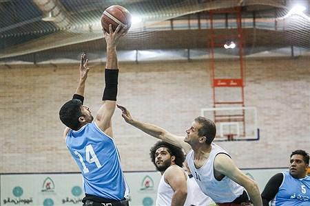 فینال جام حذفی بسکتبال با ویلچر مردان | Behrooz Khalili
