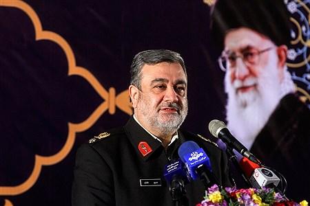 مراسم افتتاحیه طرح های عمرانی فرماندهی انتظامی تهران بزرگ | Bahman Sadeghi