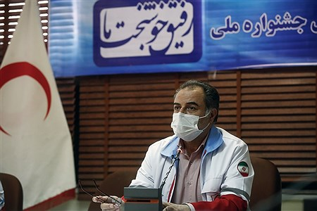 نشست خبری رییس سازمان جوانان جمعیت هلال احمر |