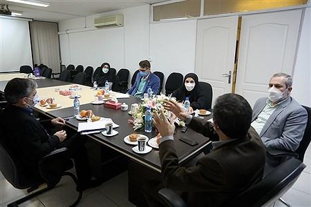 بازدید مسئولان کمیته امداد از خبرگزاری پانا   Bahman Sadeghi