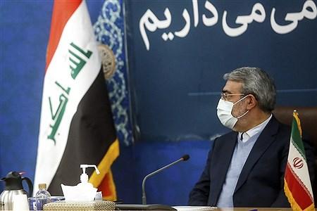 دیدار مشاور امنیتی انتظامی وزارت کشور عراق با  وزیر کشور  | Bahman Sadeghi