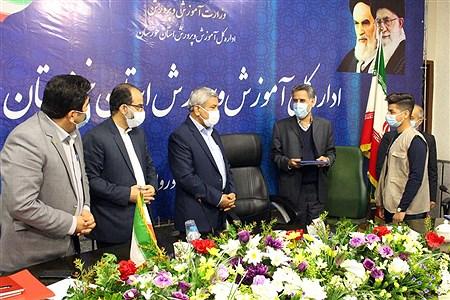 نشست مشترک مدیران کل آموزش و پرورش و کمیته امداد امام خمینی (ره) استان خوزستان    Mohamad Shahrokh Nasab