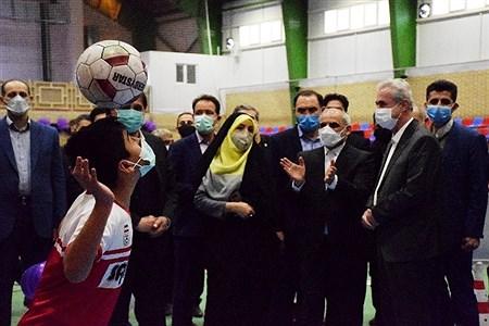 افتتاح دهکده  ورزشی دانش آموزی با حضور وزیر آموزش و پرورش | Pinar Rahimi