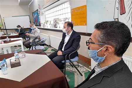نشست کشوری سبک منسجم سازی مدارس شاهد با حضور مدیر کل امور شاهد و ایثار گران وزارت آموزش و پرورش در منطقه 16 | Hossein Rabeepour