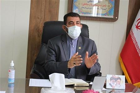 میز کار معاونت پرورشی و فرهنگی | Abdol hossein Sadeghi