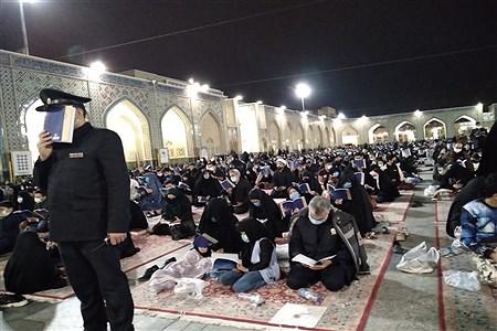 مراسم احیای شب قدر در حرم مطهر رضوی | Ali Ziaee