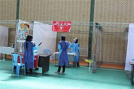 افتتاحیه مراکز تجمیع طرح واکسیناسیون عمومی در شهرستان اسلامشهر | Sasan Haghshenas