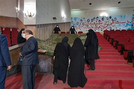 مراسم تمهیدات چهارمین گنگره معلمان و بیش از 1100 دانش آموز شهید در منطقه 16   Hosseein Rabeepour Sharafshadeh